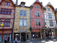 Les maisons à pans de bois de Troyes