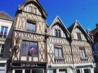 Les maisons à pans de bois du centre Auxerre