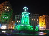 """Fontaine d'Etoiles"" Place de Jacobins"