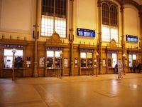 La gare de Budapest ouest