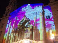 Les Lumières de Budapest sur la basilique Saint-Etienne