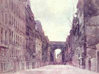 La porte saint-Denis actuelle, vue par les artistes