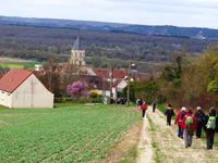 Sur les sentiers de la Petite Suisse au sud de Vétheuil avril 2014 et mars 2017