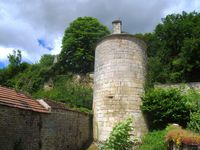 Les traces des anciennes fortifications