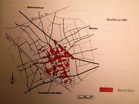 Plan de Houilles au cours de l'histoire. Le dernier plan a été réalisé par mon ami Fordan, décédé ce mois-çi, malheureusement.