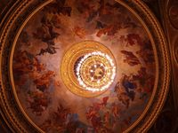 Operaház, l'opéra et son magnifique décor intérieur Une diva et voix magnifique