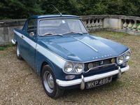 Les automobiles anglaises, Rolls-Royce, Triumph TR3, la troisième plus rare : coupé Trimph Herald 13/60