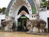 Le Zoo et son entrée