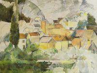 Les oeuvres de Paul Cézanne réalisées à Médan