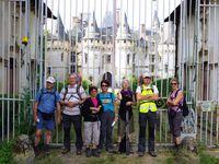 Les trois châteaux de la grande randonnée : Vigny, Villette et Théméricourt