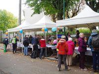 Notre participation aux randonnées Ligue Nationale contre le Cancer au départ de Rueil-Malmaison