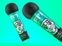 Packaging : Le shampooing micro pour chanter sous la douche