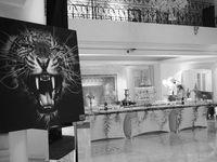 Un cadre magnifique pour cette exposition à Marrakech...