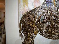 Edith Taïoni, une amoureuse des couleurs et des matières...