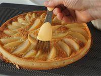 Tarte aux poires à la crème d'amande