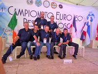 21 ème Championnat d'Europe Fly Fishing..Italie 2015.