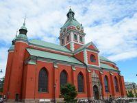 Grand hôtel, parlement et église St-Jacques