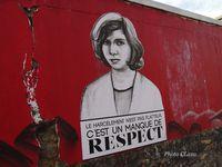 Rosa parks fait le mur - portraits de femmes