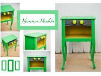 © L'ATELIER DE MARTINE : tables basses, chaises, fauteuils