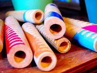© LA SUITE LUDIQUE : lampes, jeux, jouets en matériaux de récupération