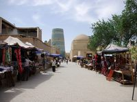 Ruelles de la forterresse de Khiva : ICHAN KALA