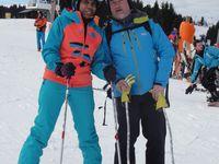 Le Ski Club Annemassien à la Pointe de Nyon.