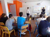 Les ateliers animés par les élèves de terminale ASSP