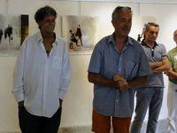 vernissage de l'exposition le 29 juillet