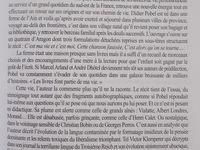 Dans la revue &quot&#x3B;Europe&quot&#x3B;