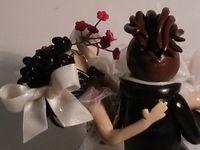 Sujet de mariage pour pièce montée