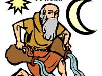 """Aquarius, l'ère du Verseau représenté par un """"vieillard"""" (le plus souvent, mais pas toujours.) partage la même symbolique que Océan, le Titan primordial."""