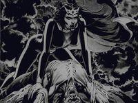 La vierge est Lilith, la première épouse démone d'Adam. La succubus est un symbole universel, démon femelle, elle abuse du corps des hommes durant leur sommeil paradoxal et prélève leur semence afin d'hybrider des êtres mi-humain mi-démoniaque.