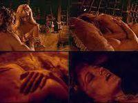Conan s'empare de la pierre occulte, puis terrasse le dragon qui se tient à l'entrée de la caverne ou est gardée prisonnière la révélation ( symbolisé par le féminin sacré, la Grande Prostitué pour les satanistes.) avant de pouvoir y être initié rituellement par le sexe magique.