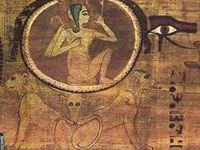 Le symbole de l'Ouroboros représente le caractère immuable de la matrice du démiurge. Et la défaite du grand serpent ?
