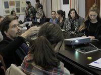 Discusiones en Granada con el taller de Paco Del Corral, nov 2016
