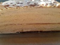 Layer cake au praliné
