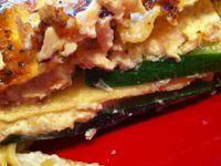 Lasagnes saumon et courgettes