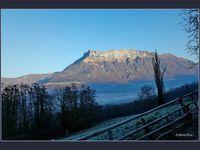Le petit matin en passant par Chateauneuf