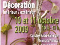 OCTOBRE 2009 : Salon nature et art floral à Wasquehal