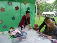 """MAI 2012 - Atelier créatif enfants """"Kit de raccommodage"""" pour la Fête des Mômes - Mosaïc à Houplin Anscoine"""