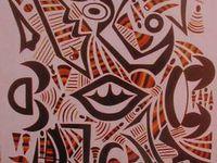 CENTRAFRIQUE : Sylvain SELEKON - artiste peintre.