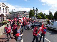 Conséquente mobilisation syndicale du 12 septembre à Epinal