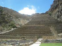 Aperçu des ruines d'Ollantaytambo.