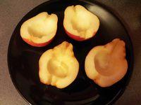 Quatre quart aux poires fourrées praliné, n'hésitez pas à cliquer sur les photos