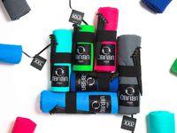 1 Ôbaba XXL+ de 5m2 (couleur au choix),1 lot de 2 mini serviettes brodées-1 Obaba XXL + 5m2 (any color), 1 set of 2 mini embroidered towels