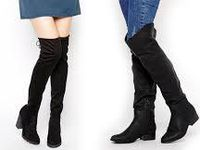 Le retour des cuissardes -The return of the  thigh-high boots