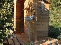 Douche et wc de jardin