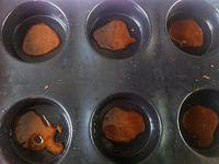 Gâteaux renversés à l'ananas individuels