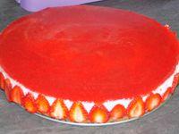 Bavarois fraises-spéculoos