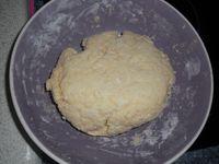 recette de la pâte doublée pour une seconde recette